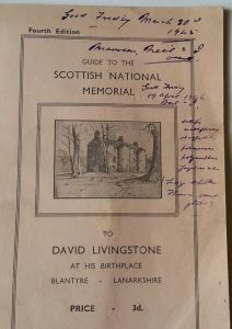 A 4th Edition of the David Livingstone Guidebook