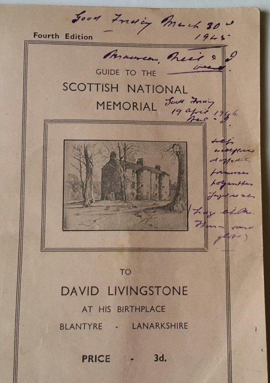 1940s guidebook