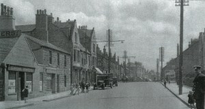 Glasgow Road, Blantyre Late 1930s.