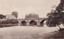 1936 Bothwell Bridge from Blantyre (PV)