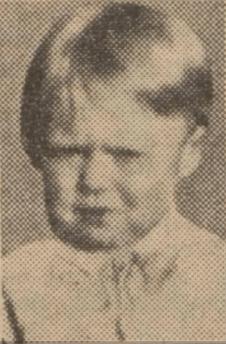 1935 Betty Robertson , aged 2