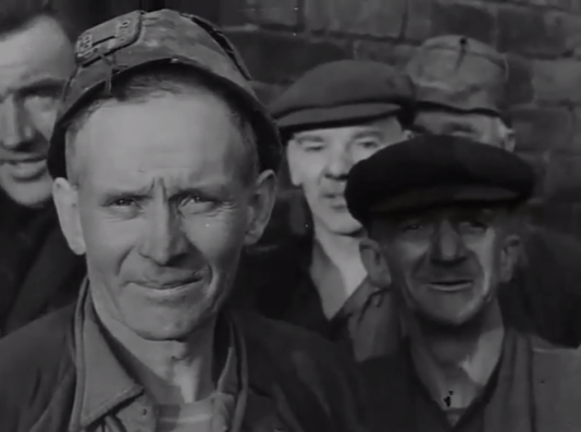 1947 Dixons 3 miners. 6th January High Blantyre (PV)