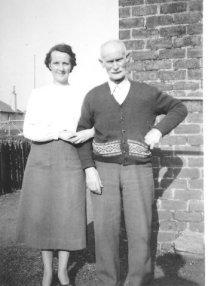 1951 Annie and James Nimmo Snr at Auchinraith