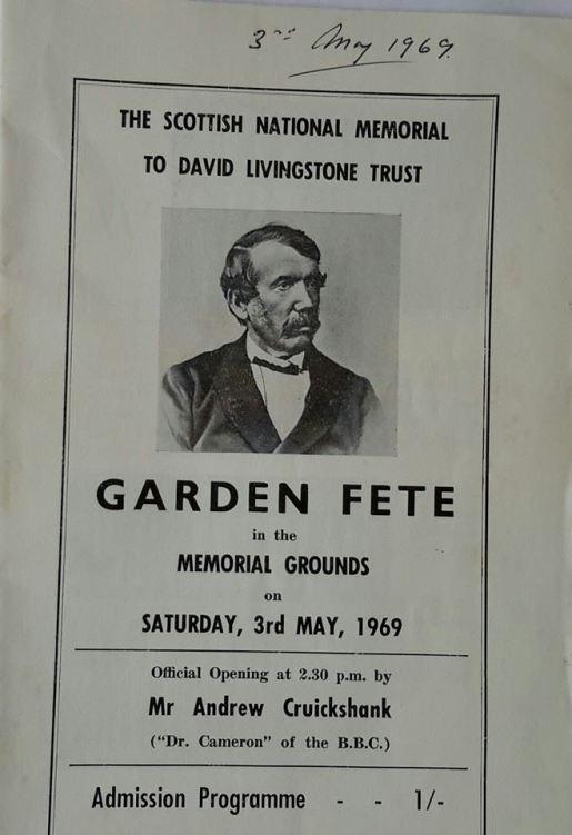 1969 3rd May Garden Fete. From Neil Scott