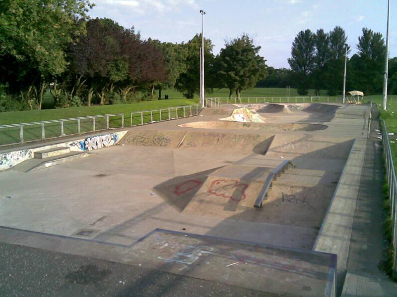 Blantyre Skatepark at Stonefield 2009