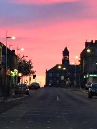 2015 Sunset at GLasgow Road