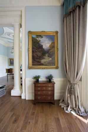 Crossbasket Castle renovated room 2015