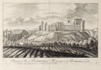 1718 Engraving of Blantyre Priory