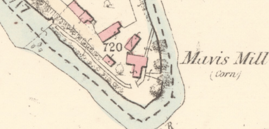 1859 Map of Mavis Mill