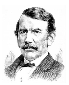 1864 David Livingstone sketch