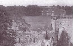 Bothwell House from Bothwell Castle 1920