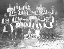 1925 The Reds Quoiting Club, Blantyre shared G Cook