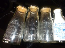 1930s Milk Bottles shared by C Gray