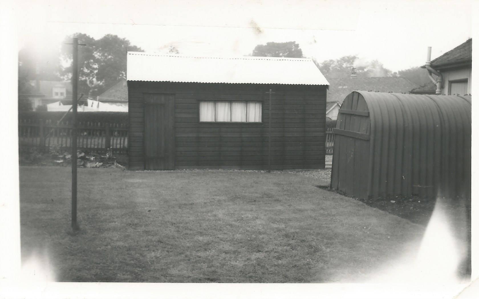 1967 Back garden 6 Watson Place