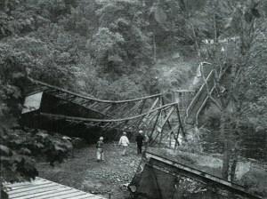 David Livingstone Memorial Bridge demolition 28th May 1999