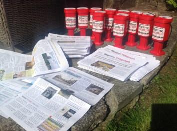 2015 Blantyre Telegraph sample of initial print run