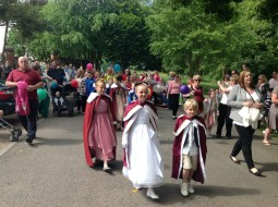 2015 Blantyre Gala Day 27th June. Royal Pageant (PV)