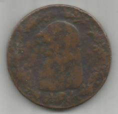 Coin found at Calderside Farm