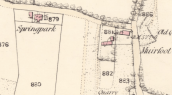 1859 Map of Springpark Pub, Auchentibber