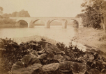 1870 Bothwell Bridge from Blantyre. By T Annan