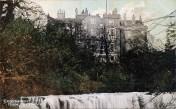 1920s Crossbasket Castle Postcard colourised (PV)