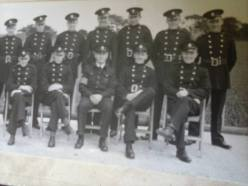 1940s Duncan Sillars, back 3rd from right. Shared by Historic Hamilton