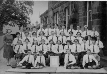 1957 High Blantyre Primary School choir (PV) Family photo