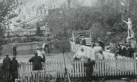 Auchentibber quoiting green 1919