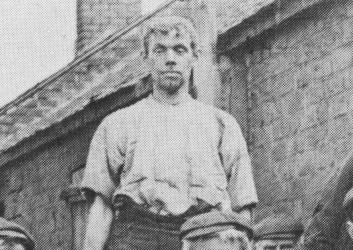 Blantyre Blacksmiths 1920s at Priestfield (PV)