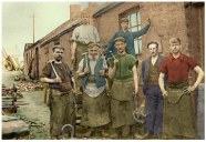 1920s Blantyre Blacksmiths at Priestfield by A Paterson
