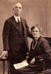 1930s Wattie and Tina Wilson of the Baptist Church