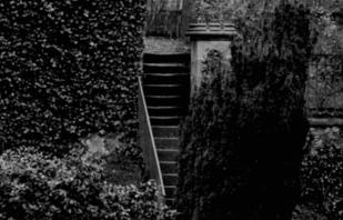 1910 Back Steps of Calderwood Castle