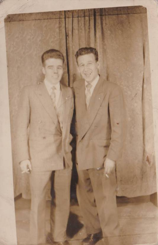 1958 Johnny Logan and John McGuire