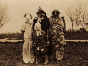 Halloween, when it was scary!