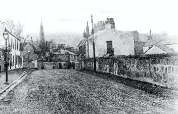1890s High Blantyre Main Street (PV)