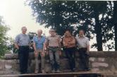 Rebuilding Old Parish Wall 1989