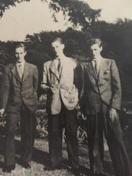 1950 The Leggat family