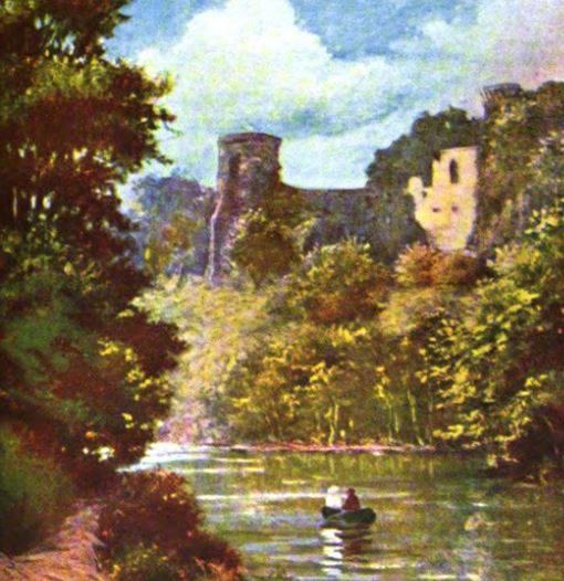 Bothwell Castle from Blantyre 1880s
