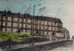 1971 Rosendale Painting by unknown artist