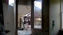 The new entrance to the Ballroom at Crossbasket. November 2015 (PV)
