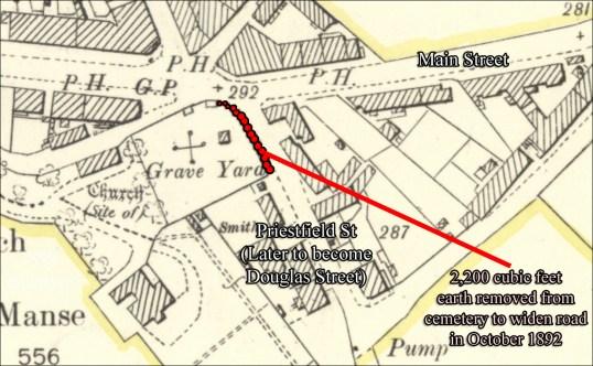 1892 road widening Kirkton