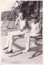 1971 David Livingstone Centre playpark. Shared by Mary Crowe