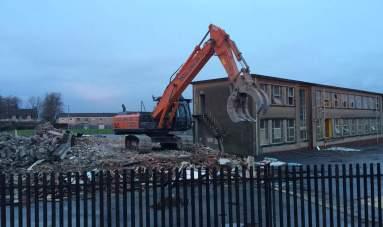 2016 8th Jan St Josephs demolition