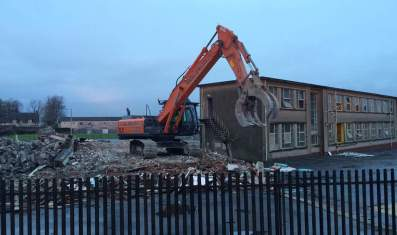 2016 8th Jan St Josephs demolition