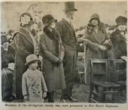 1929 David Livingstones family meet Duchess of York at Blantyre 12th Oct