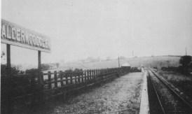 1920s Calderwoodglen Halt Platform
