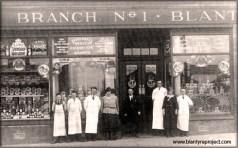 1920 Staff at Blantyre Co-op Henertson St