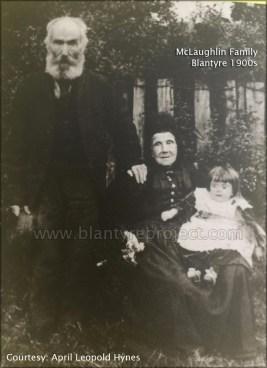 1910 McLaughlin family with Agnes Strang