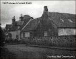 1920s Malcomwood Farm