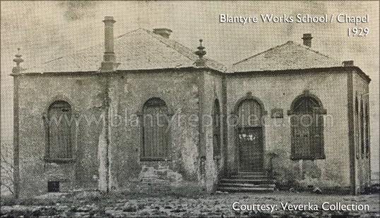 1929 Blantyre Works School Chapel wm